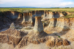 Loess erosion landform Stock Photography