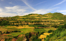 Loess plateau Stock Photography
