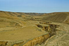 Loess Plateau in spring Stock Photo