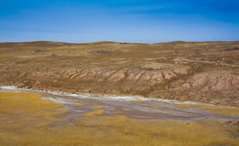 Loess plateau winter Stock Photography