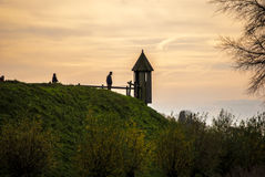 Loevestein - Holland Royaltyfri Fotografi