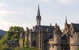 Loewenburg castle bergpark kassel germany Stock Image