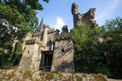 Loewenburg castle bergpark kassel germany Stock Images