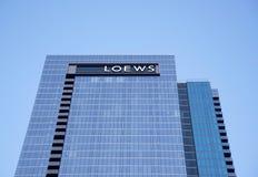 Loews hotell Chicago, Illinois royaltyfria foton