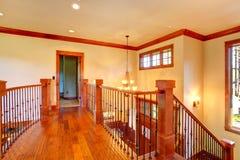 Lof balcony. Luxury house interior Royalty Free Stock Photos