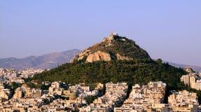 Lofos Likavitou from Acropolis, Athens royalty free stock photo