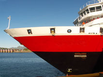 lofoten挪威船首 库存图片