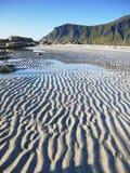 Lofoten海岛,挪威风景 图库摄影