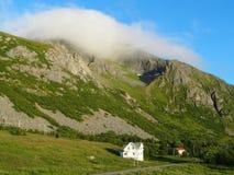 Lofoten海岛,挪威 挪威海 免版税库存图片
