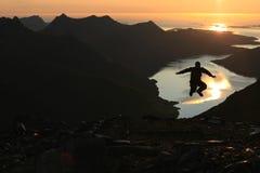 Lofoten,挪威 免版税库存照片