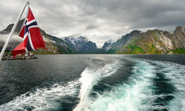 Lofoten-τροφοδοτημένος από τη φύση στοκ εικόνες με δικαίωμα ελεύθερης χρήσης