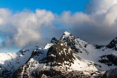lofoten зига горы Стоковое Фото