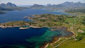 Lofoten, Норвегия Стоковое Фото