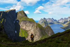 Lofoten photographie stock