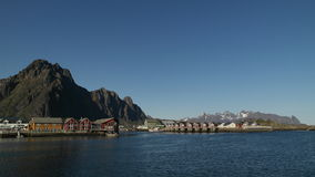 Lofoten Foto de Stock Royalty Free