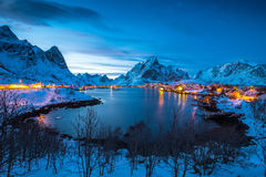 Lofoten Στοκ εικόνες με δικαίωμα ελεύθερης χρήσης