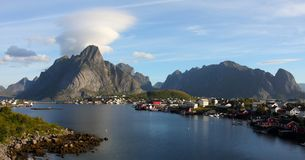 Lofoten archipelago Stock Images