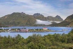 Lofoten archipelago, Austvagoya island, Stock Photography