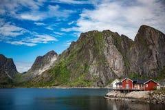 Lofoten archipelago islands Stock Photography