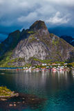 Lofoten archipelago islands Royalty Free Stock Photos
