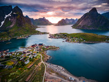 Lofoten archipelago islands Royalty Free Stock Photography