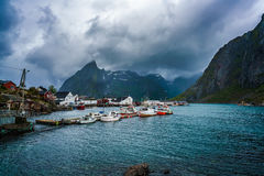 Lofoten archipelago islands Royalty Free Stock Images