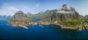 Lofoten archipelago in Nordland Norway Stock Images