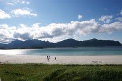 Lofoten beach royalty free stock photo