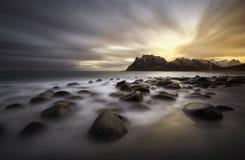 Lofoten beach, Norway Royalty Free Stock Photography