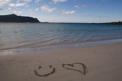 Lofoten beach stock image