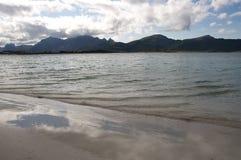 Lofoten beach royalty free stock image