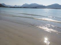 Lofoten beach Stock Photos