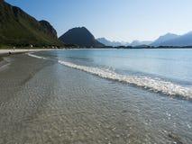 Lofoten beach Royalty Free Stock Images