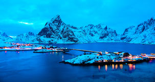 Lofoten. The beautiful island in Norway Stock Image