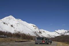 Lofoten Berge Stockfotos