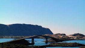 Lofoten bridges Royalty Free Stock Photography
