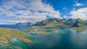 Lofoten bridges Stock Photos