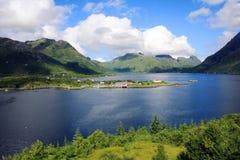 Lofoten en Noruega Fotos de archivo libres de regalías