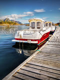 Lofoten, Fishing Boats Stock Photos
