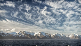 The Lofoten, First glimpse Stock Photography