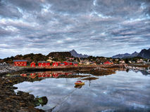 Lofoten, Holiday resort Royalty Free Stock Photo