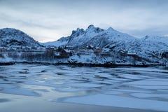 Lofoten iceland Royalty Free Stock Image