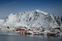 Lofoten iceland Stock Images