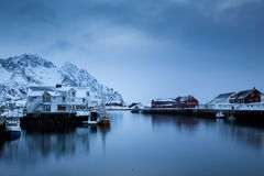 Lofoten iceland Royalty Free Stock Images