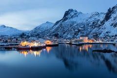 Lofoten iceland Royalty Free Stock Images