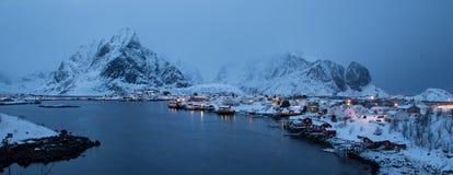 Lofoten iceland Royalty Free Stock Photo
