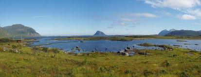 Lofoten Inseln Stockbild