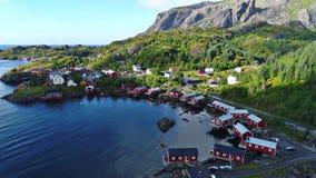 Lofoten-Inseln ist ein Archipel in der Grafschaft von Nordland, Norwegen stockbild