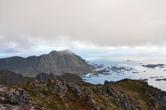Lofoten Inseln, Norwegen Stockfotos