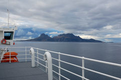 Lofoten Island Cruise Stock Photography